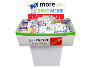 Wholesale: Wellness Dump Display - 200 Pieces