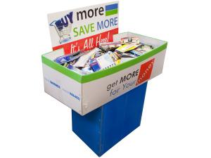 Wholesale: General Merchandise Dump Display - 200 Pieces