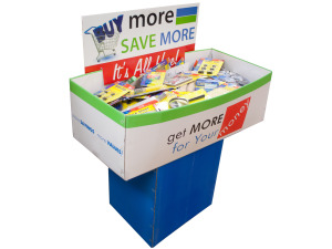 Wholesale: Stationery Dump Display - 200 Pieces