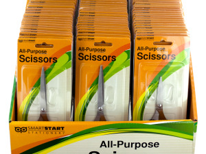 Stainless Steel All-Purpose Scissors Display
