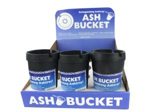 Extinguishing Ashtray Ash Bucket Counter Top Display