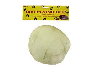 Dog chew flying disk