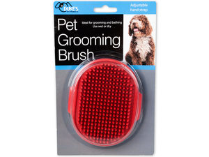 Wholesale: Pet Grooming Brush with Adjustable Hand Strap
