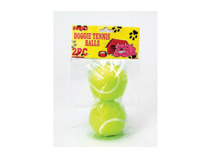 Wholesale: 2 Pack dog tennis balls