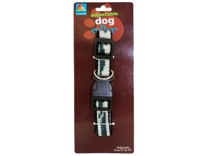 Adjustable Printed Dog Collar