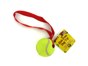 Dog Tennis Ball with Rope