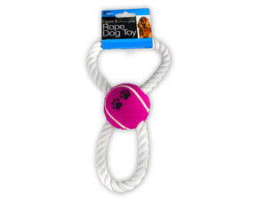 Figure 8 Rope and Ball Dog Toy
