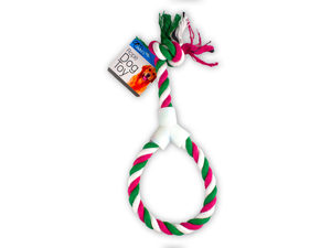 Dog Rope Toy with Hand Grip