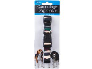 Adjustable Camouflage Dog Collar