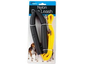 Nylon Dog Leash with Foam Handle Cover