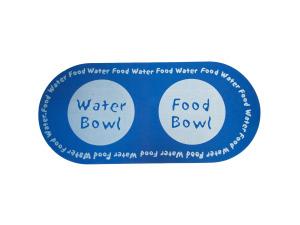 Wholesale: Printed Foam Pet Food & Water Mat