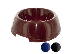Wholesale: Plastic pet bowl 3 asst colors