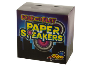 Wholesale: Fold and Play Paper Speakers