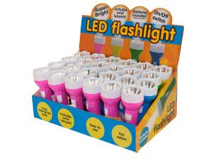 LED Flashlight Countertop Display
