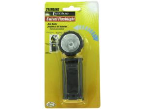 Flashlight with swivel head