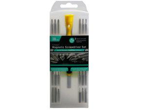 Wholesale: 30 Bit Magnetic Screwdriver Set in Hard Case