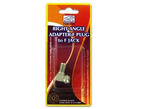Wholesale: Right angle audio video plug