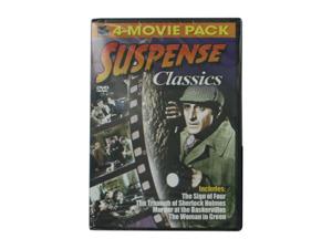 Wholesale: Suspense classics 4-movie DVD