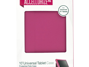 Accellorize Pink Universal Tablet Case