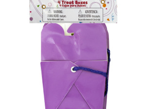 Wholesale: Purple Party Favor Treat Boxes