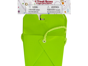 Wholesale: Lime Green Party Favor Treat Boxes