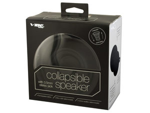 Black Vibe Sound Collapsible Speaker