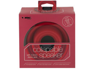 Red Vibe Sound Collapsible Speaker
