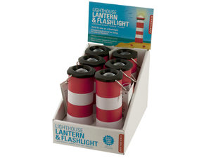 Lighthouse LED Lantern & Flashlight Countertop Display