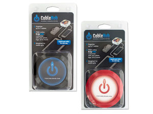Assorted Red & Black CableHub Customizable Universal Charging Station