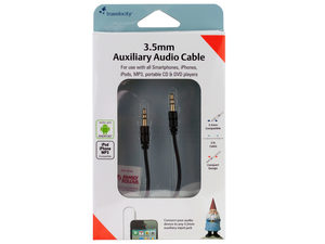 Travelocity 3.5mm Auxiliary Audio Cable