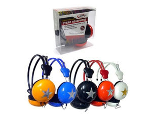Digital Multimedia Star Accent Stereo Headphones