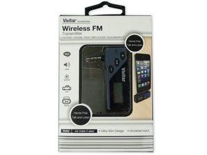 Wholesale: Vivitar iTalk Wireless FM Transmitter