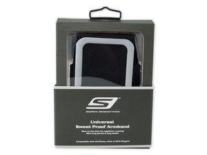 Skechers Universal Black Sweat Proof Armband
