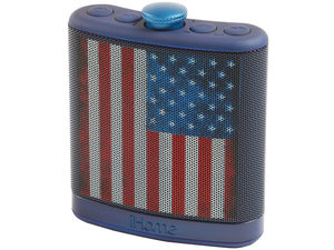 IHome America Flask Speaker with Case