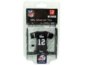 New England Patriots Tom Brady wind-up toy