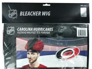 Wholesale: Carolina Hurricanes Fuzzy Head Wig
