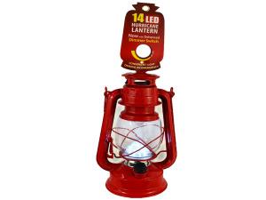 Wholesale: LED Red Hurricane Lantern