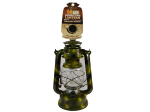 Wholesale: LED Camouflage Hurricane Lantern