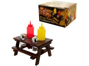 Wholesale: Picnic Table Condiment Set
