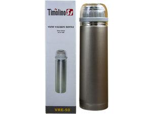 Wholesale: 17 fl.oz desert silver vizio vacuum bottle