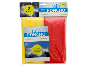 Wholesale: Emergency Rain Ponchos