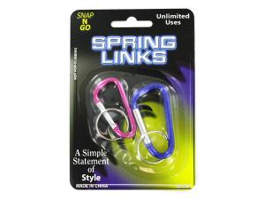 Wholesale: Metal Spring Links