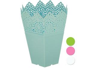 Decorative Hexagonal Multi-Use Flower Pot