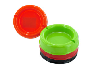 Wholesale: Round Plastic Ashtray