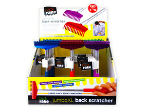 Wholesale: Jumbo Telescoping Back Scratcher in Countertop Display