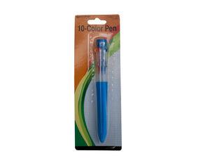 Wholesale: 10 Color Ballpoint Pen