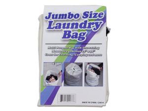 Wholesale: Jumbo Size Laundry Bag with Drawstring