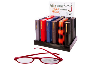 Wholesale: Reading Glasses with Fashion Case Counter Top Display