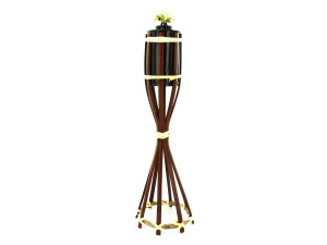 Wholesale: Wicker Tiki Torch