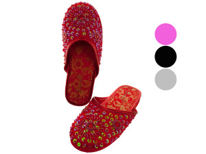 Girls Sparkling Slip-On Shoes